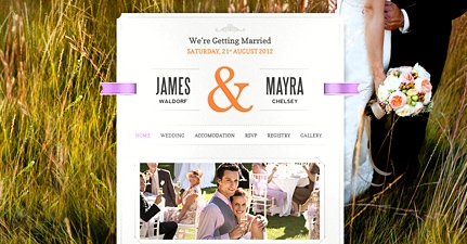 just married themefuse geekact