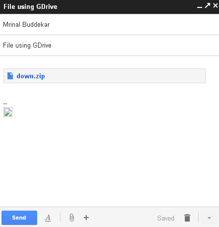 large file attached email google drive geekact