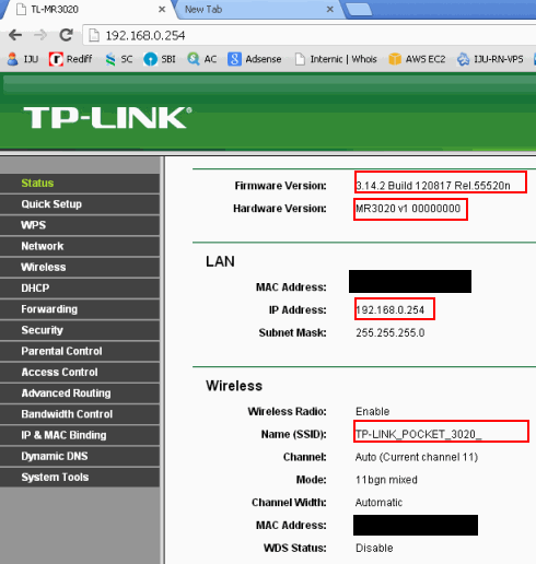 How To Configure Tp Link TL MR3020