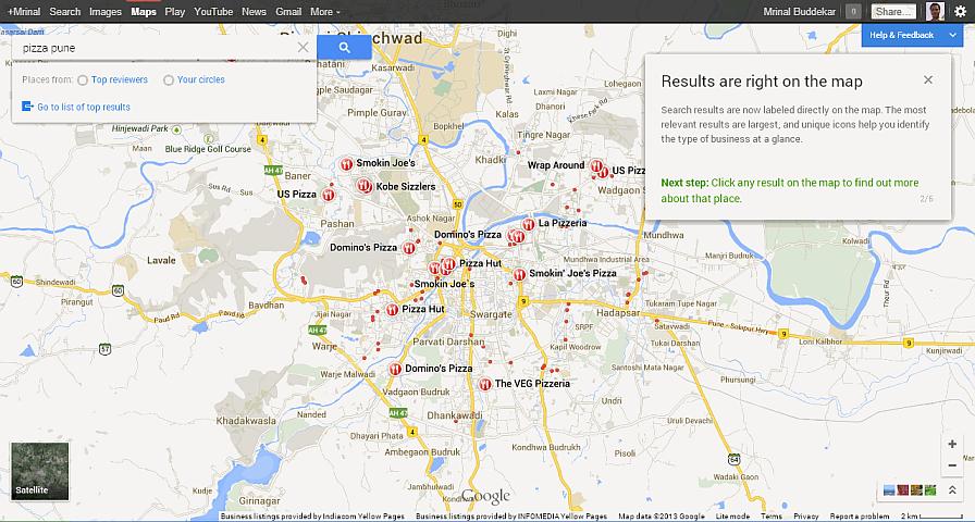 new google maps geekact