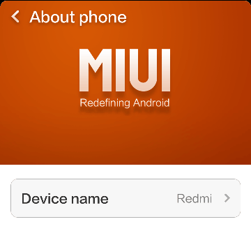 Update Redmi 1S Manually Geekact