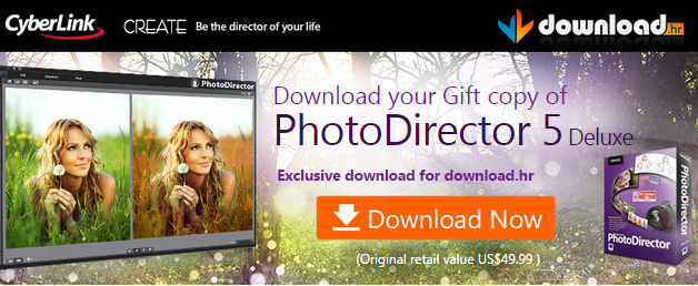 Free CyberLink PhotoDirector 5 Deluxe Full