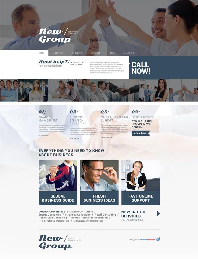 New Group wordpress