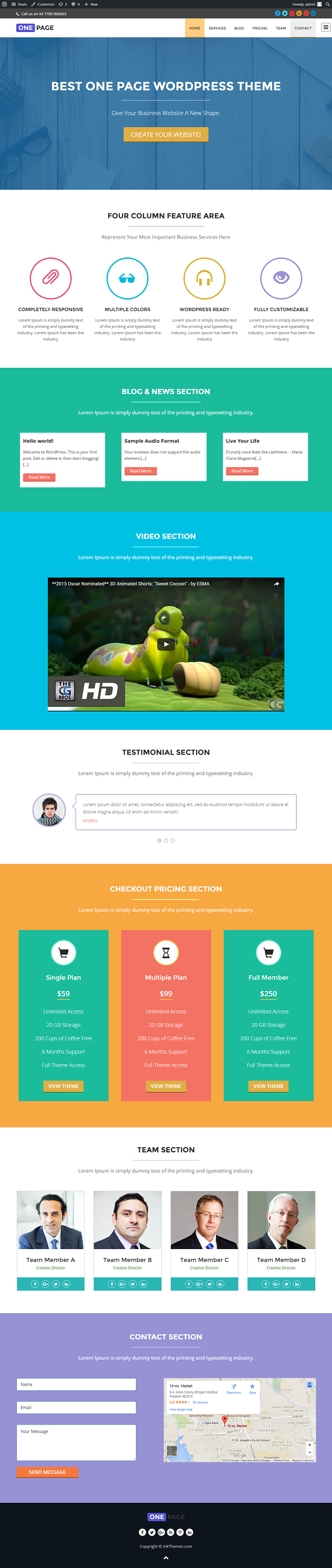 free-aerofit-wordpress-theme