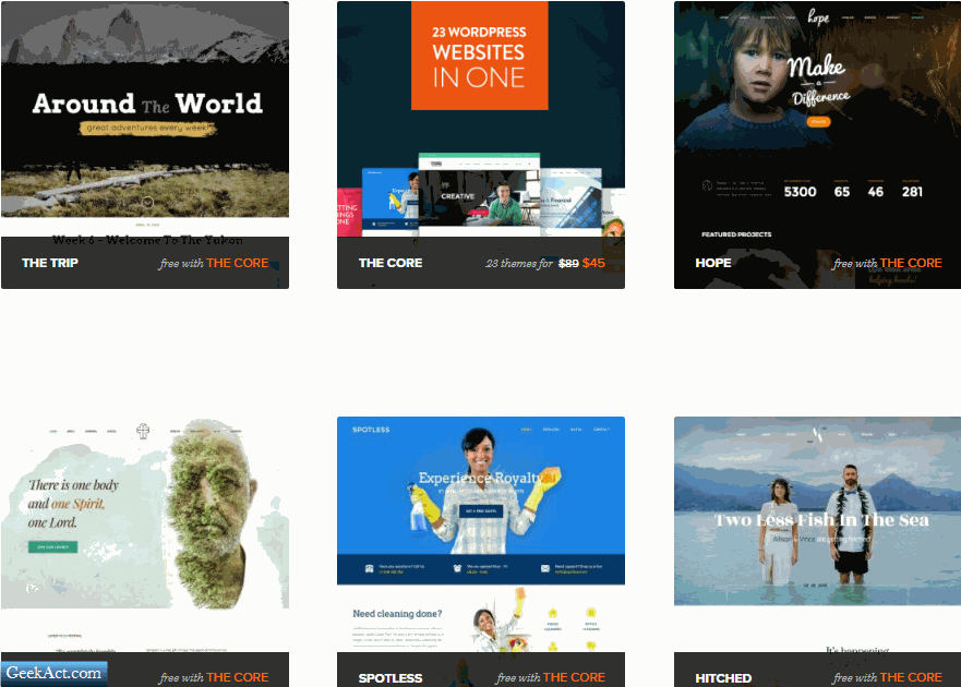 themefuse core wordpress themes