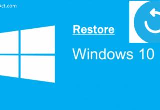 wipe Windows 10 and restore