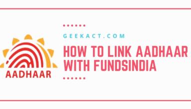 aadhaar with fundsindia
